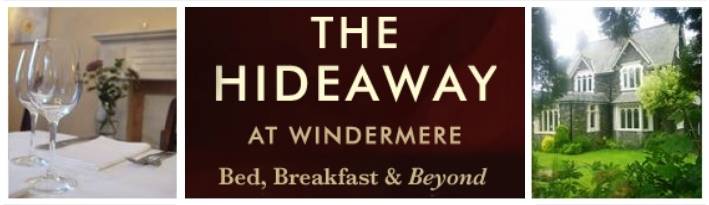 Visit The Hideaway at Windermere for a fabulous taste of the English Lake District